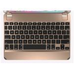 Aluminium Bluetooth Keyboard for iPad Air/2/Pro - 9.7in - Gold